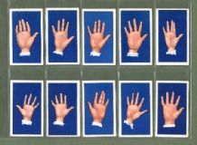Cigarette cards Palmistry 1933 Fortune telling set